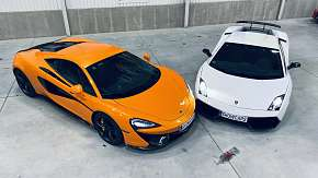 Sleva 71% - Zážitková jízda v Lamborghini Gallardo a McLaren 570S
