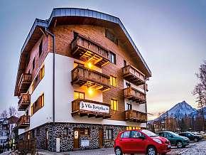 52% Vysoké Tatry: 3 denní pobyt pro DVA v horské vile…