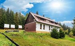 38% Příjemné ubytování v horské chatě na překrásné…