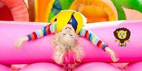 Sleva 50% - Zábava na celý den v Dětském světě Lvíček - vstup pro dítě do 15 let