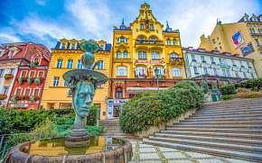 39% Karlovy Vary:  2–4 denní rodinný pobyt v Hotelu…