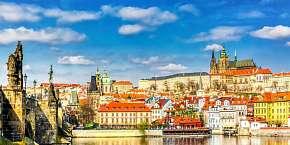 30% Pražské památky jako na dlani z luxusního hotelu…