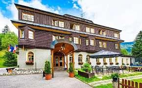 44% Krkonoše: Špindlerův Mlýn v Alpském Hotelu ***+ s…