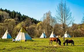 50% Národní park Šumava: Dobrodružství ve stanu či…