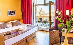 Sleva na pobyt 43% - Praha: 2–4 denní pobyt pro DVA přímo v centru v Hotelu…