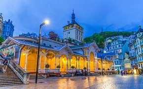 50% Karlovy Vary: 3–9 denní pobyt pro DVA kousek od…