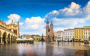 8% Polsko, Krakov: 2–7 denní pobyt pro DVA v…