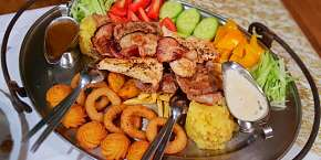 Sleva 30% - Rudolfovo plato - delikátní výzva pro dva v Golemově restaurantu