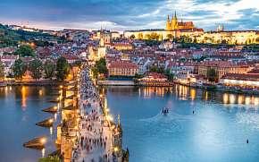 Sleva na pobyt 34% - Praha: 2–8 dennní pobyt pro DVA přímo v centru města…