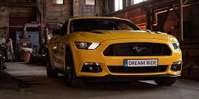 Sleva 21% - Zážitková jízda včetně paliva v nadupaném sportovním voze Ford Mustang GT jako…