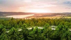 30% Podzimní pobyt na Šumavě s bydlením přímo u Lipna…
