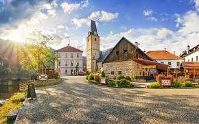 37% Šumava přímo pod hradem Rožmberk: Hotel U Martina…