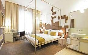 50% Praha blízko centra a MHD v moderním Hotelu Pure…