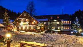 7% Zimní pobyt v penzionu Rusalka s polopenzí a…