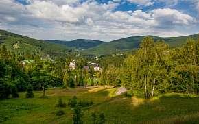 48% Krkonoše: Špindlerův Mlýn v Hotelu Horní Pramen s…