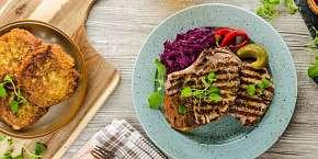 Sleva 25% - Bašta u Švejka ve Strašnicích - vepřové a kuřecí steaky s přílohou hranolků,…
