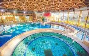 35% Maďarsko blízko lázní Bükfürdo v Danubius Hotel…