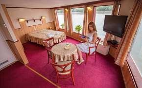 30% Budapešť originálně na lodi ve Fortuna Boat…