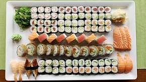 Sleva 52% - Až 101 kousků lahodného sushi v restauraci Ngoc Ha Sushi v Ostravě