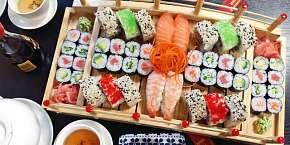Sleva 41% - Vynikající sushi menu až se 72 kousky z restaurace Kyoto – Sajado Wok & Sushi v…