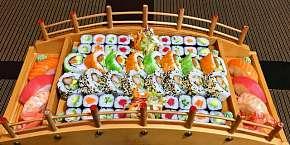 Sleva 41% - Vynikající sushi menu až se 72 kousky z restaurace Kyoto sushi Vysočany