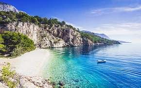 48% Chorvatsko: Makarská riviéra jen 500 m od moře v…